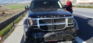 Gaziantep'te 3 aracın karıştığı kazada 1 kişi yaralandı