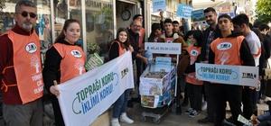 Milas'ta 200 kilo atık pil toplandı