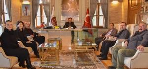 CHP Bozüyük İlçe Teşkilatından Başkan Şahin'e ziyaret