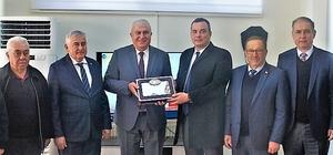 Aydın Ticaret Borsası'ndan Başkan Fatih Atay'a ziyaret