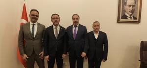 Bakan Kasapoğlu'ndan Eyyübiye ilçesi için proje sözü