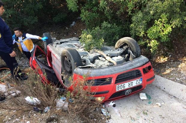 Muğla'da kaza: 1 ölü, 3 yaralı Muğla Sakartepe rampasında meydana gelen trafik kazasında bir kişi öldü, 3 kişi hafif yaralandı.
