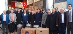 Bursalı sobacılardan ısıtan yardım Yardıma muhtaç ailelere 350 soba