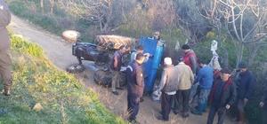 Ağır yaralanan traktör sürücüsü kurtarılamadı
