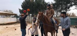 Şanlıurfa'da atlı terapi antrenörlük eğitimi