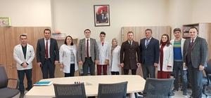Daire Başkan Özcan gençlik merkezini inceledi