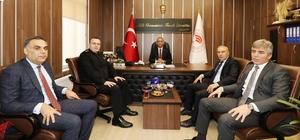 Samsun'da hayvancılık sektörü değerlendirildi Hayvancılık Genel Müdür Yardımcısı Erol Bulut, Samsun'daki hayvancılık faaliyetleri hakkında bilgi aldı
