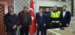 Malatya Emniyet Müdürü Dağdeviren'e ziyaret
