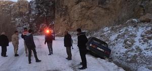 Malatya'da gizli buzlanma kazaya neden oldu