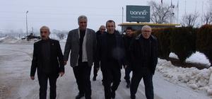 AK Parti ilçe teşkilatından yeni açılan fabrikayı ziyaret