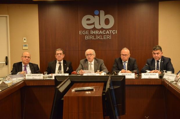 """Egeli ihracatçılar 2020 yılını sürdürülebilirlik yılı ilan etti Egeli ihracatçılar, """"Sürdürülebilir bir dünya için, sürdürülebilir üretim ve ihracat"""" için çalışacak"""