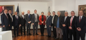 Aydın Ticaret Borsası'ndan Başkan Çerçioğlu'na fuar daveti