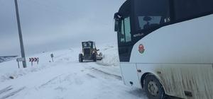 Söğüt-Eskişehir karayolu ulaşıma kapandı, araçlar yolda mahsur kaldı