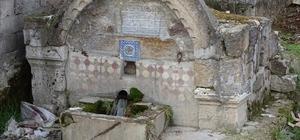 Hisarcık'ta 170 yıllık tarihi Osmanlı çeşmesi restore edilmeyi bekliyor