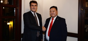 Osmangazi'ye Moğolistan'dan kardeş şehir Göktürklerin kurulduğu topraklara Osmangazi Parkı