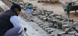 Efeler'de üst yapı hamlesi sürüyor Efeler Belediyesi fen işleri ekipleri hız kesmeden devam ediyor