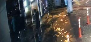Pompalı tüfekle 2 kişiyi böyle vurdu Bir kişinin öldüğü  bir kişinin de pompalı tüfekle yaralandığı an kameraya yansıdı