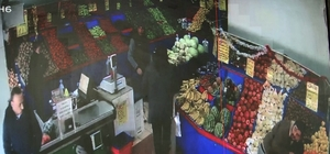 Pompalı tüfekli kavgada bir kişi yaralandı Silahlı kavgada saçmaların isabet ettiği dükkandaki panik kamerada