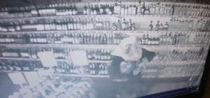 Kafasına çuval geçirip market soydu Çuvallı hırsız polisin titiz çalışması sonucu yakalandı