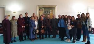 Turan MHP Lapseki teşkilatını ağırladı