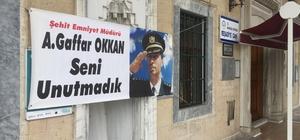 Şehit Emniyet Müdürü Ali Gaffar Okkan unutulmadı Şehadetinin 19'uncu yılında Şehit Ali Gaffar Okkan okutulan Mevlid-i Şerifle anıldı