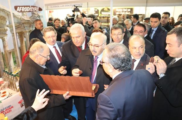 Aydın Tarım Fuarı'nda Nazillili girişimcilerin ürünleri yoğun ilgi gördü