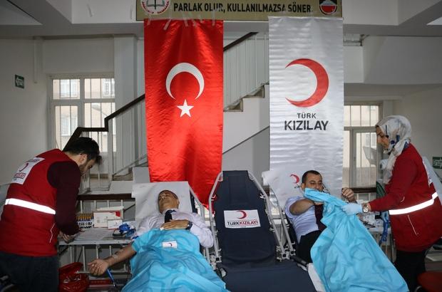 Diyarbakır İl Milli Eğitim Müdürlüğünden Kızılay'a kan bağışı seferberliği
