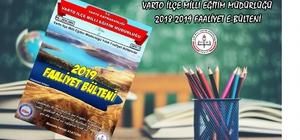 "Varto'da ""2018-2019 yılı Faaliyet Bülteni"" hazırlandı"