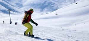 Van'da kayak sezonu geç başladı