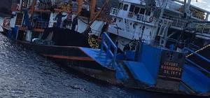 Çanakkale'de Gırgır Teknesi karaya oturdu