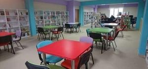 Aslanapa'ya kütüphane