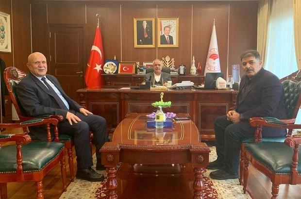 Başkan Pekmezci Ankara'da ziyaretlerde bulundu