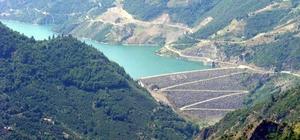 Samsun barajlarında son durum Samsun'un içme suyunu karşılayan Çakmak Barajı'nda doluluk oranı yüzde 25 azaldı