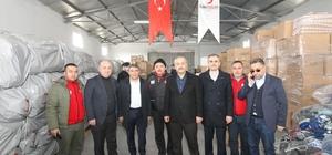 Belediye Başkanı Zinnur Büyükgöz Elazığ'a gitti