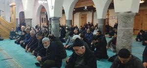 Depremde vefat edenler için Kur'anı Kerim okundu