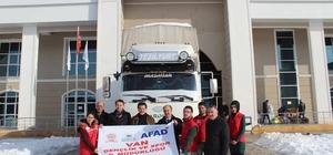 Van Gençlik ve Spor İl Müdürlüğünden Elazığ'a yardım