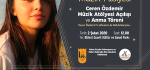 Ceren Özdemir Çukurova'da anılacak Ordu'da öldürülen Ceren Özdemir'in adı müzik atölyesine verilecek