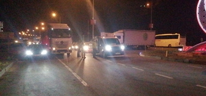 LPG yüklü tankerde sızıntı: Rize-Trabzon yolu trafiğe kapatıldı