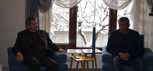 Başkan Altun'dan Cennet Yiğit'in ailesine teşekkür ziyareti