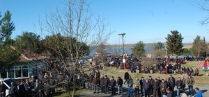 3 bin kişi yağmur duası için toplandı