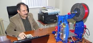 Müdür Yardımcısı, 5 bin TL'lik 3D yazıcı projesini 1000 TL'ye mal etti
