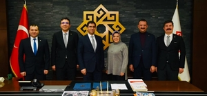 Karesi Belediyesi, Kütüphaneler Genel Müdürünü ağırladı