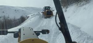 Yoğun kar nedeniyle mahsur kalan 293 vatandaş kurtarıldı