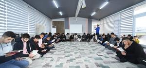 Öğrenciler Atabey Gençlik ve Eğitim Kampında geleceğe hazırlanıyor
