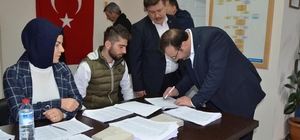 Emet AK Parti delege seçimi
