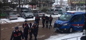 Jandarmadan hırsızlık operasyonu: 2 tutuklama