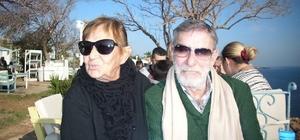 Ahmet Mekin'in eşi Erdek'te toprağa verilecek