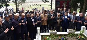 Çanakkale savaşlarının ilk kahramanlarından Bigalı Mehmet Çavuş kabri başında anıldı