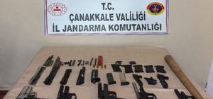 Çanakkale'de uyuşturucu ve silah ticareti operasyonu