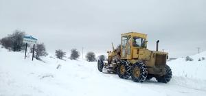 Kardan kapanan 132 kırsal mahallenin yolu ulaşıma açıldı